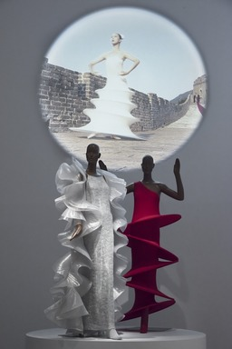 Pierre Cardin: Future Fashion, Saturday, July 20, 2019 through Sunday, January 05, 2020 (Image: DIG_E_2019_Pierre_Cardin_44_PS11.jpg Photo: Jonathan Dorado photograph, 2019)