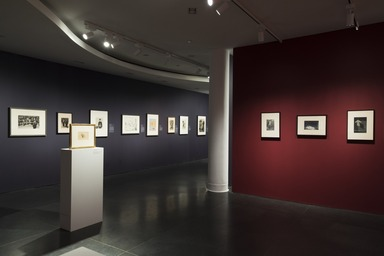 Installation view, Rembrandt to Picasso: Five Centuries of European Works on Paper. Brooklyn Museum, June 21, 2019 - October 13, 2019. (Photo: Jonathan Dorado)