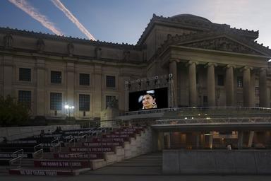 Art on the Stoop: Sunset Screenings, September 9, 2020 through November 8, 2020 (Image: DIG_E_2020_Art_on_the_Stoop_Sunset_Screenings_DIG_05_PS11.jpg Photo: Jonathan Dorado photograph, 2020)