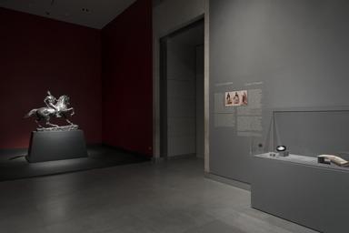 Installation view, Jacques-Louis David Meets Kehinde Wiley, Brooklyn Museum, [01/24/2020 - 05/10/2020] (Photo: Jonathan Dorado)