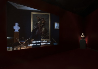 Jacques-Louis David Meets Kehinde Wiley, January 24, 2020 through August 30, 2020 (Image: DIG_E_2020_David_Meets_Wiley_12_PS11.jpg Photo: Jonathan Dorado photograph, 2020)