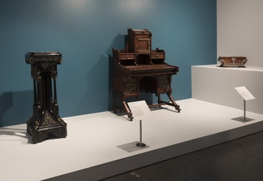 Modern Gothic: The Inventive Furniture of Kimbel and Cabus, 1863-82, July 2, 2021 through February 13, 2022 (Image: DIG_E_2021_Modern_Gothic_15_PS11.jpg Photo: Jonathan Dorado photograph, 2021)