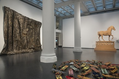 The Slipstream: Reflection, Resilience, and Resistance in the Art of Our Time, Friday, May 14, 2021 through Sunday, March 20, 2022 (Image: DIG_E_2021_The_Slipstream_02_PS11.jpg Brooklyn Museum photograph, 2021)