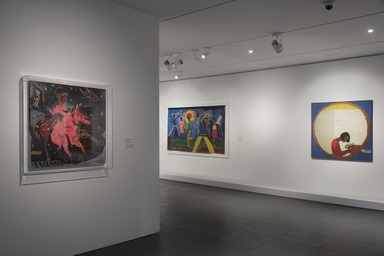 The Slipstream: Reflection, Resilience, and Resistance in the Art of Our Time, Friday, May 14, 2021 through Sunday, March 20, 2022 (Image: DIG_E_2021_The_Slipstream_05_PS11.jpg Brooklyn Museum photograph, 2021)