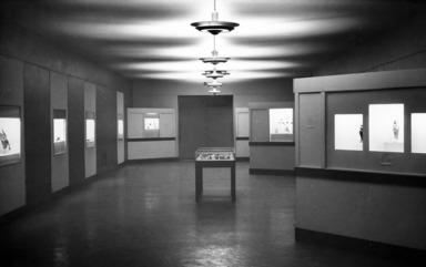 Glass & Glazes from Ancient Egypt, January 01, 1948 through March 31, 1948 (Image: ECA_E1948i001_print_bw_SL5.jpg Brooklyn Museum photograph, 1948)