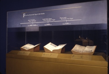 Jewish Life in Ancient Egypt, February 15, 2002 through May 12, 2002 (Image: ECA_E2002i056.jpg Brooklyn Museum photograph, 2002)