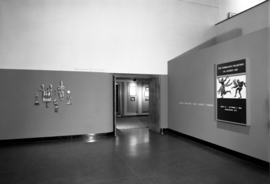 Pomerance Collection of Ancient Art [06/14/1966-10/02/1966]. Installation view.