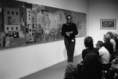 Romare Bearden: 1970-1980. [09/26/1981 - 01/03/1982]. Installation view.