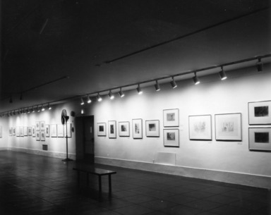 Richard Claude Ziemann: Prints & Drawings, 1956-1979, September 15, 1979 through November 04, 1979 (Image: PDP_E1979i001.jpg Brooklyn Museum photograph, 1979)