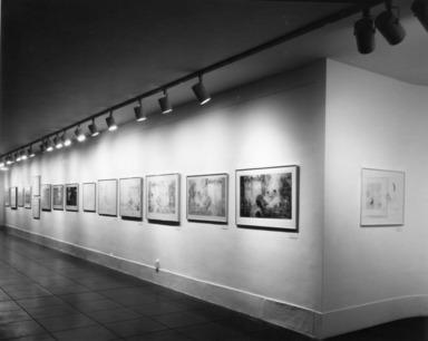 Richard Claude Ziemann: Prints & Drawings 1956 - 1979. [09/15/1979 - 11/04/1979]. Installation view.