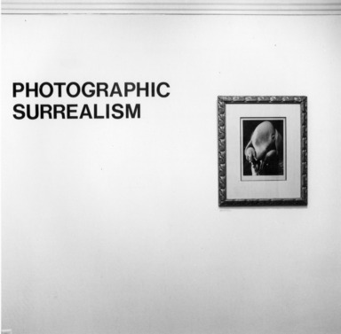 Photographic Surrealism, May 17, 1980 through July 13, 1980 (Image: PDP_E1980i002.jpg Brooklyn Museum photograph, 1980)