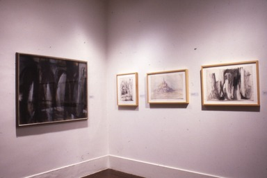 Cleve Gray: Works on Paper, 1940-1986, December 15, 1986 through February 23, 1987 (Image: PDP_E1986i015.jpg Brooklyn Museum photograph, 1986)