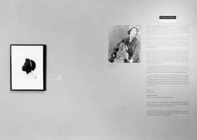 Consuelo Kanaga: An American Photographer. [10/15/1993 - 02/27/1994]. Installation view.