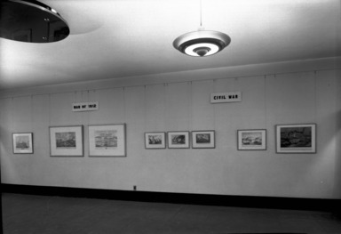Life on the Mississippi. [10/05/1945 - 01/13/1946]. Installation view.