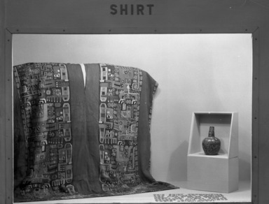 Peruvian Costume, for the Living & the Dead. [10/11/1946 - 02/09/1947]. Installation view: shirts.