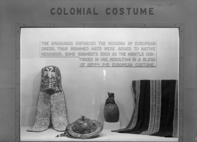 Peruvian Costume, for the Living & the Dead, October 11, 1946 through February 09, 1947 (Image: PHO_E1946i039.jpg Brooklyn Museum photograph, 1946)