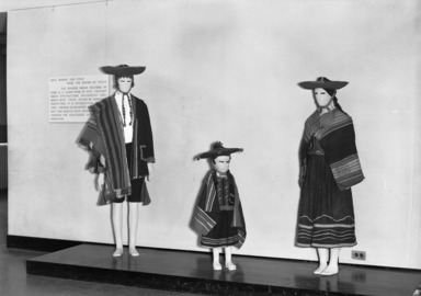 Peruvian Costume, for the Living & the Dead, October 11, 1946 through February 09, 1947 (Image: PHO_E1946i045.jpg Brooklyn Museum photograph, 1946)