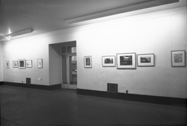 American Printmaking, 1913-1947. [11/19/1947 - 12/17/1947]. Installation view.