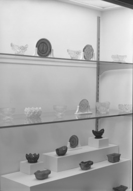 American Pressed Glass, January 04, 1956 through April 30, 1956 (Image: PHO_E1956i002.jpg Brooklyn Museum photograph, 1956)