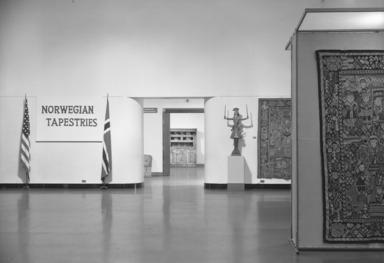 Norwegian Tapestries, September 22, 1959 through October 25, 1959 (Image: PHO_E1959i018.jpg Brooklyn Museum photograph, 1959)
