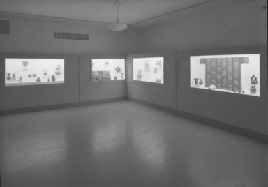 Ancient Art of the Americas. [12/01/1959 - 01/03/1960]. Installation view.
