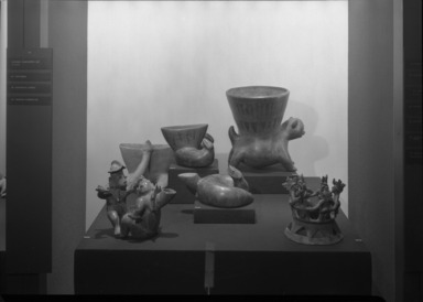 Ancient Art of Latin America, from the Collection of Jay C. Leff, November 22, 1966 through March 05, 1967 (Image: PHO_E1966i037.jpg Brooklyn Museum photograph, 1966)