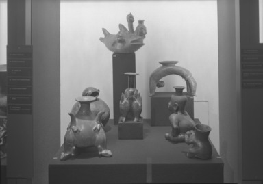 Ancient Art of Latin America, from the Collection of Jay C. Leff, November 22, 1966 through March 05, 1967 (Image: PHO_E1966i039.jpg Brooklyn Museum photograph, 1966)
