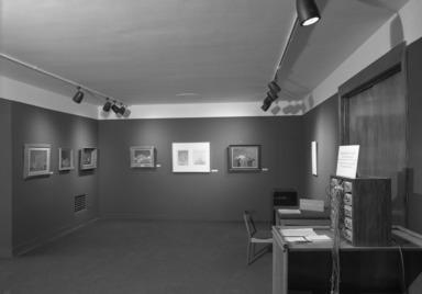Walter Murch: A Retrospective Exhibition, December 19, 1967 through January 28, 1968 (Image: PHO_E1967i049.jpg Brooklyn Museum photograph, 1967)