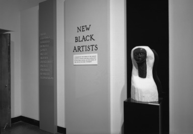 New Black Artists, October 07, 1969 through November 09, 1969 (Image: PHO_E1969i034.jpg Brooklyn Museum photograph, 1969)