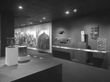 African Art of the Dogon: The Lester Wunderman Collection, April 4, 1973 through May 20, 1973 (Image: PHO_E1973i003.jpg Brooklyn Museum photograph, 1973)