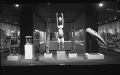 African Art of the Dogon: The Lester Wunderman Collection, April 4, 1973 through May 20, 1973 (Image: PHO_E1973i005.jpg Brooklyn Museum photograph, 1973)