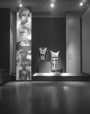 African Art of the Dogon: The Lester Wunderman Collection. [04/04/1973 - 05/20/1973]. Installation view.