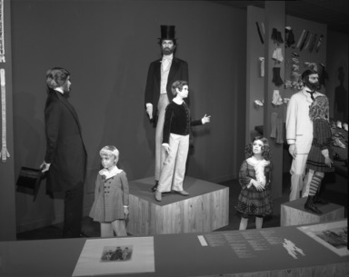 Of Men Only. [09/18/1975 - 01/18/1976].  Installation view.