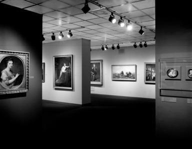 Women Artists: 1550-1950, October 1, 1977 through November 27, 1977 (Image: PHO_E1977i026_bw_SL3.jpg  photograph, )