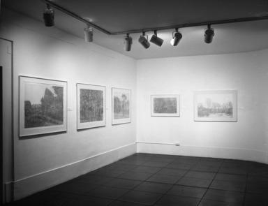 Richard Claude Ziemann: Prints & Drawings, 1956-1979, September 15, 1979 through November 04, 1979 (Image: PHO_E1979i046.jpg Brooklyn Museum photograph, 1979)
