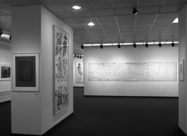 American Drawing in Black and White: 1970-1980, November 22, 1980 through January 18, 1981 (Image: PHO_E1980i024.jpg Brooklyn Museum photograph, 1980)