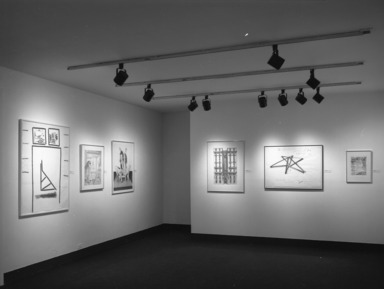American Drawing in Black and White: 1970-1980, November 22, 1980 through January 18, 1981 (Image: PHO_E1980i026.jpg Brooklyn Museum photograph, 1980)