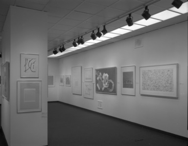 American Drawing in Black and White: 1970-1980, November 22, 1980 through January 18, 1981 (Image: PHO_E1980i028.jpg Brooklyn Museum photograph, 1980)