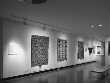 Curator's Choice II. Textile Arts of the American Southwest, March 01, 1984 through May 31, 1984 (Image: PHO_E1984i021.jpg Brooklyn Museum photograph, 1984)