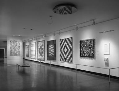 Curator's Choice: Quilts, November 21, 1985 through February 04, 1985 (Image: PHO_E1984i101.jpg Brooklyn Museum photograph, 1984)