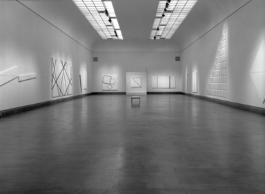 François Morellet: Systems, January 17, 1985 through March 17, 1985 (Image: PHO_E1985i010.jpg Brooklyn Museum photograph, 1985)