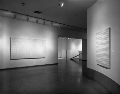 François Morellet: Systems, January 17, 1985 through March 17, 1985 (Image: PHO_E1985i014.jpg Brooklyn Museum photograph, 1985)