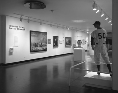 Curator's Choice: Welcome Back to Brooklyn. [06/02/1985 - 09/02/1985]. Installation view.