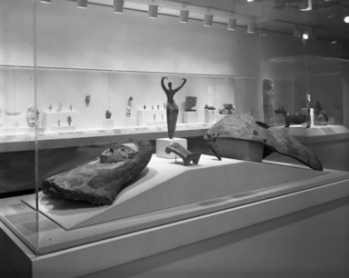 Curator's Choice: Ancient Sculptures in Clay, December 11, 1985 through March 24, 1986 (Image: PHO_E1985i128.jpg Brooklyn Museum photograph, 1985)
