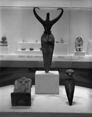 Curator's Choice: Ancient Sculptures in Clay, December 11, 1985 through March 24, 1986 (Image: PHO_E1985i130.jpg Brooklyn Museum photograph, 1985)