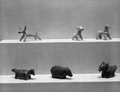 Curator's Choice: Ancient Sculptures in Clay, December 11, 1985 through March 24, 1986 (Image: PHO_E1985i132.jpg Brooklyn Museum photograph, 1985)