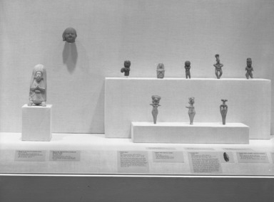 Curator's Choice: Ancient Sculptures in Clay, December 11, 1985 through March 24, 1986 (Image: PHO_E1985i134.jpg Brooklyn Museum photograph, 1985)