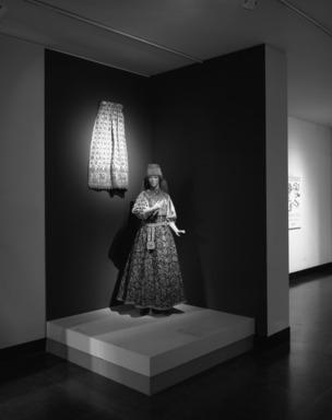 Curator's Choice: Pearls Among the Gold: Russian Women's Festive Dress, February 25, 1987 through June 29, 1987 (Image: PHO_E1987i002.jpg Brooklyn Museum photograph, 1987)