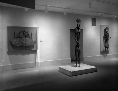 Architectural Elements from the Pacific Islands [01/01/1987-08/08/1988]. Installation view.