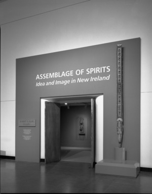 Assemblage of Spirits: Idea and Image in New Ireland, February 12, 1988 through May 8, 1988 (Image: PHO_E1988i006.jpg Brooklyn Museum photograph, 1988)